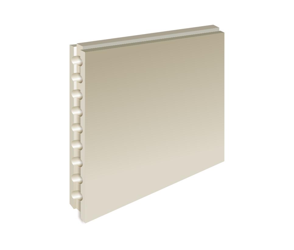 Купить Пазогребневая плита ВОЛМА 667х500х80 мм пустотелая, Волма, Гипс