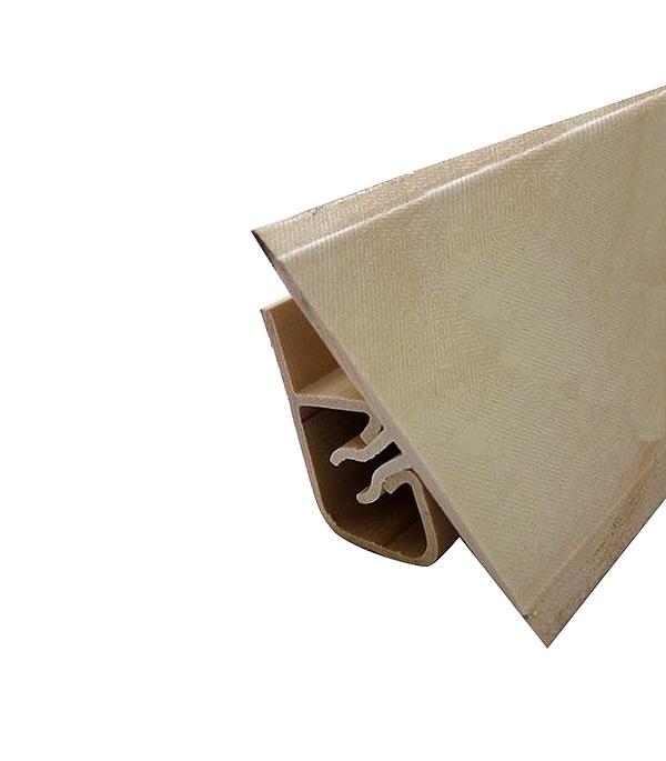 Уголок двухсоставной для кафельной плитки внутренний самоклеящийся 25х25х1800 мм розовый радонит с фурнитурой