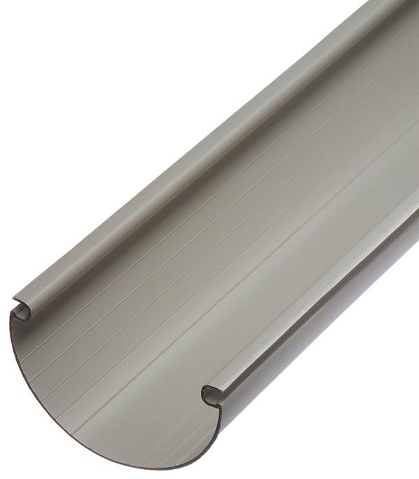 Желоб водосточный пластиковый Vinyl-On 125 мм 3 м белый желоб водосточный grand line 125 мм коричневый 2 5 м металлический
