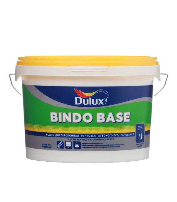 Грунт Bindo Base Dulux водно-дисперсионный 2.5 л пинотекс base грунт 2 7 л