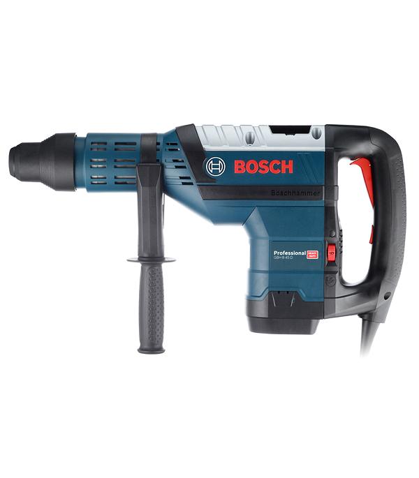 Перфоратор Bosch GBH 8-45 D 1500 Вт 12.5 Дж SDS-max перфоратор с патроном sds plus pbh 3000 2 fre 750 вт 2 8 дж bosch бош