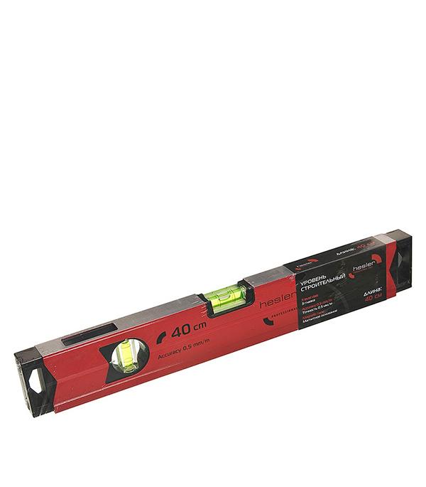 Магнитный уровень Hesler 40 см 3 глазка магнитный уровень l 120 см 2 глазка sola azm 120 01181401