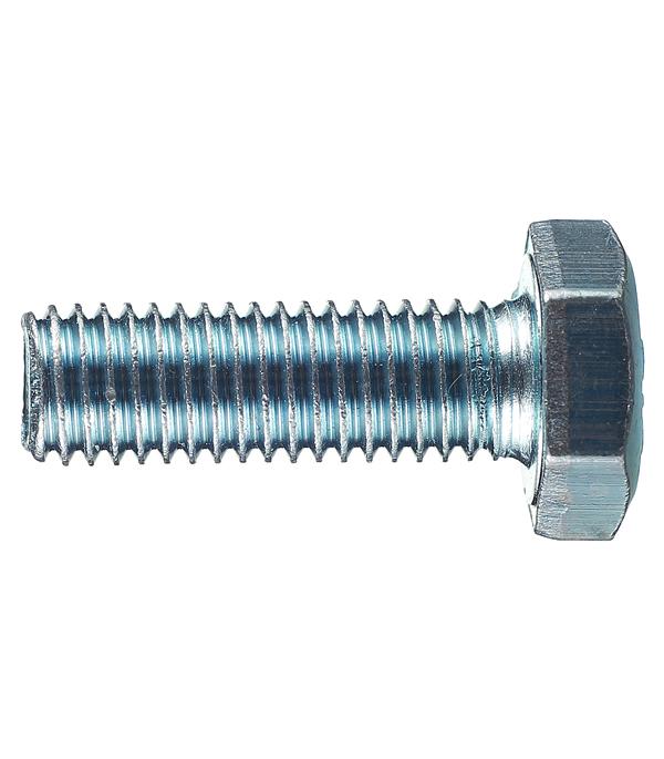 Болты оцинкованные М10х30 мм DIN 933 (20 шт)