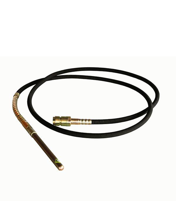 Вал гибкий с вибронаконечником для бензинового вибратора Champion 45 мм 6 м tion o2 lite
