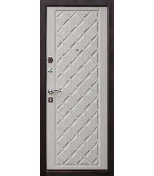 Дверь входная Kamelot Винорит беленый дуб 960х2050 мм левая