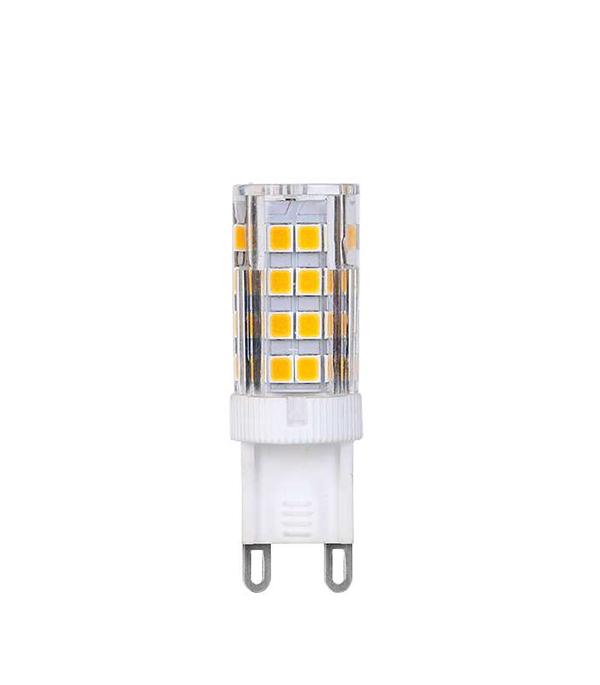 Лампа светодиодная G9 6W JCD капсула 2700K теплый свет лампочка rev led jcd g9 1 6w 3000k теплый свет 220v 32439 3