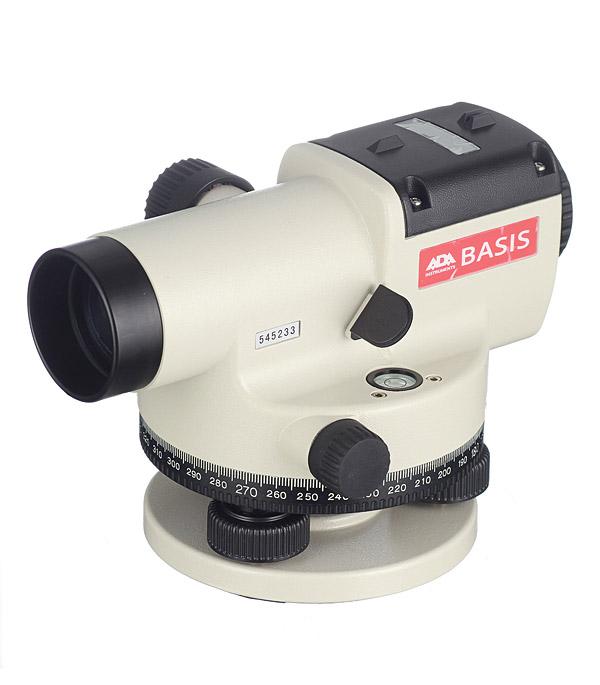 Нивелир оптический ADA Basis 20 оптический нивелир stabila ols 26 штатив bst s рейка tnl 500 см 18460