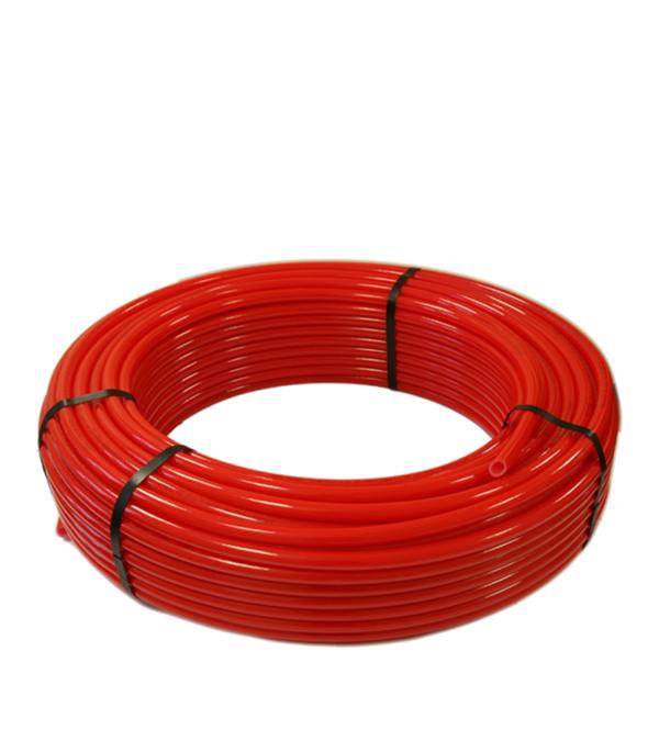 Труба для теплого пола 16 мм PERT красная (бухта 100) стоимость