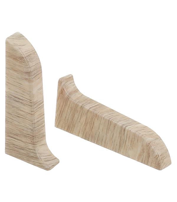 Заглушки торцевые (левая + правая) Wimar 58 мм дуб рене (2 шт) заглушки торцевые левая правая wimar 58 мм дуб пальмира 2 шт