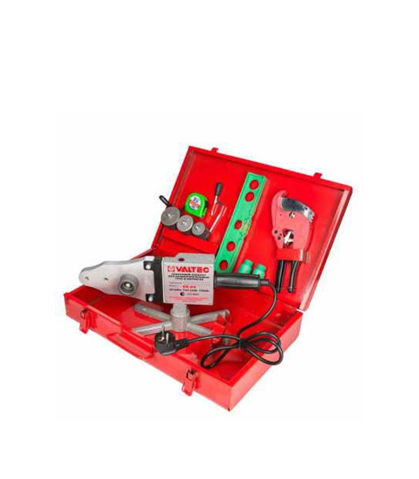 Сварочный аппарат для полипропиленовых труб Valtec ER-04 d20-40 мм 1500 Вт сварочный аппарат для п п труб candan см04 ящик