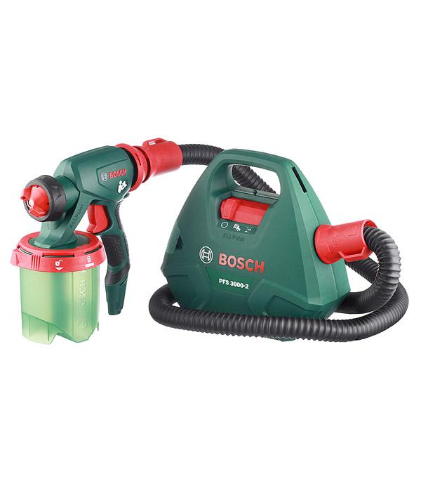 цена на Краскопульт электрический Bosch PFS 3000-2 (603207100) 650 Вт 1 л