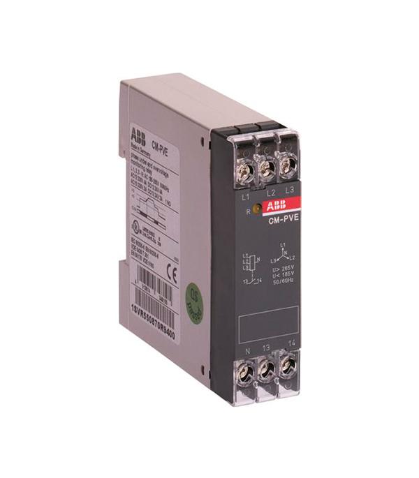 Реле контроля напряжения АВВ 3-х фаз CM-PVE free delivery ac230v 8 cm high quality axial flow fan cooling fan 8038 3 c 230 hb