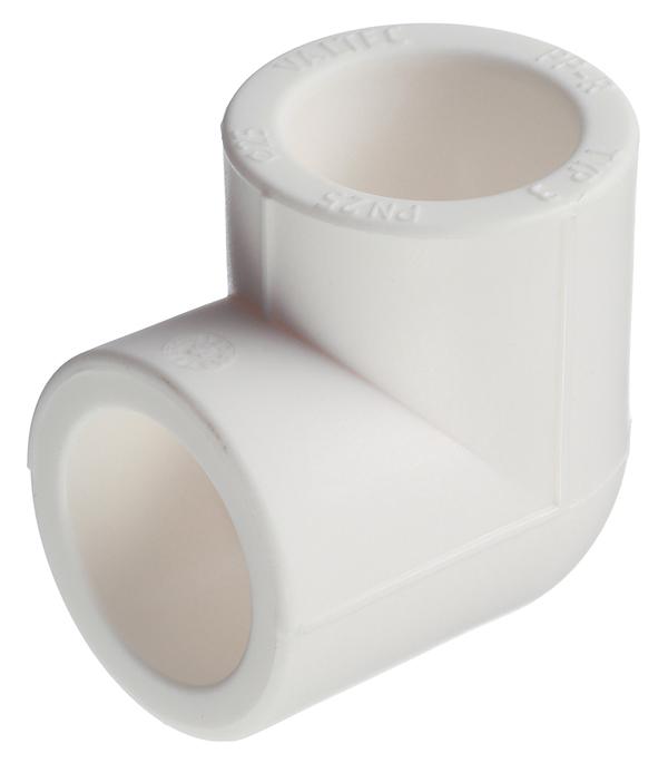 цена на Угол полипропиленовый 25 мм, 90° Valtec