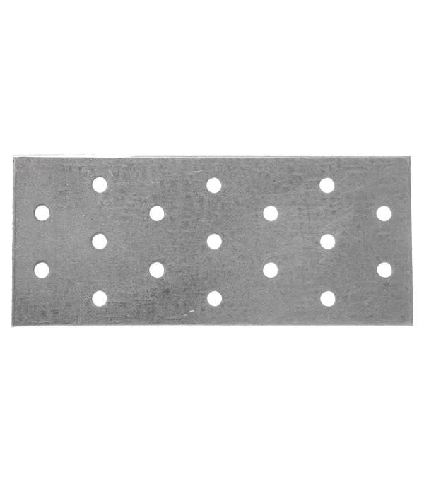 Пластина соединительная оцинкованная 140х60х2.0 мм