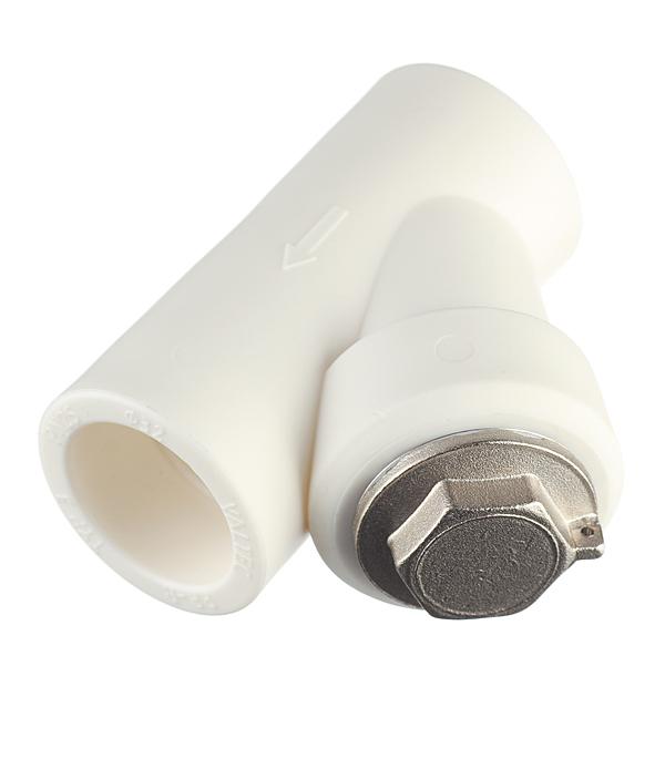 Фильтр полипропиленовый Valtec (VTp.786.0.032) косой 32 мм В/В сетчатый