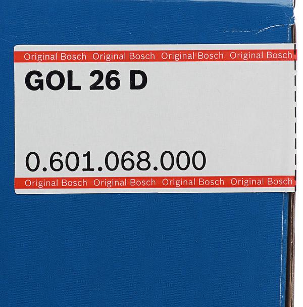 Нивелир оптический Bosch GOL 26D (0601068000)