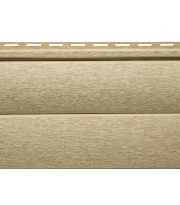 цены Сайдинг Vinylon BlockHouse 3000х230 мм ваниль