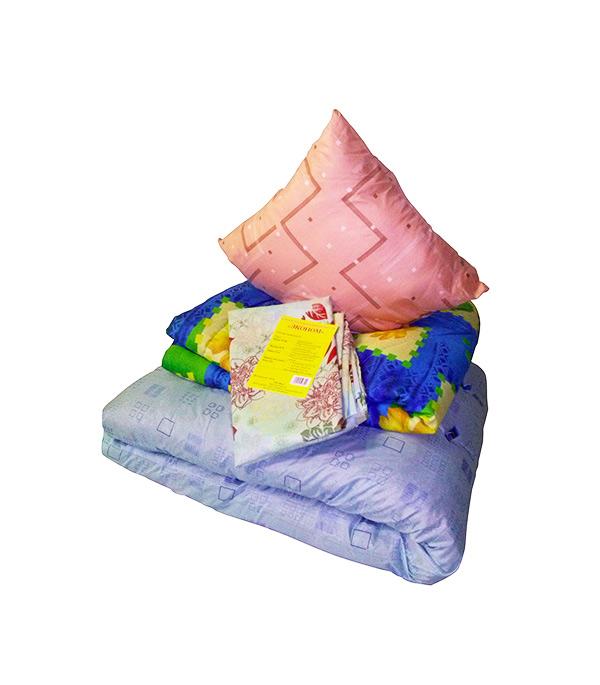 Комплект спального места строителя с бельем