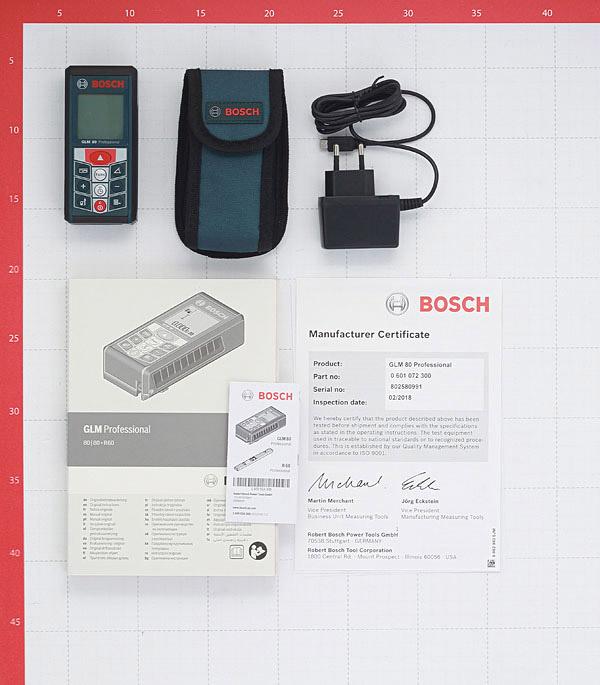 Дальномер лазерный Bosch GLM 80 (601072300) 80 м