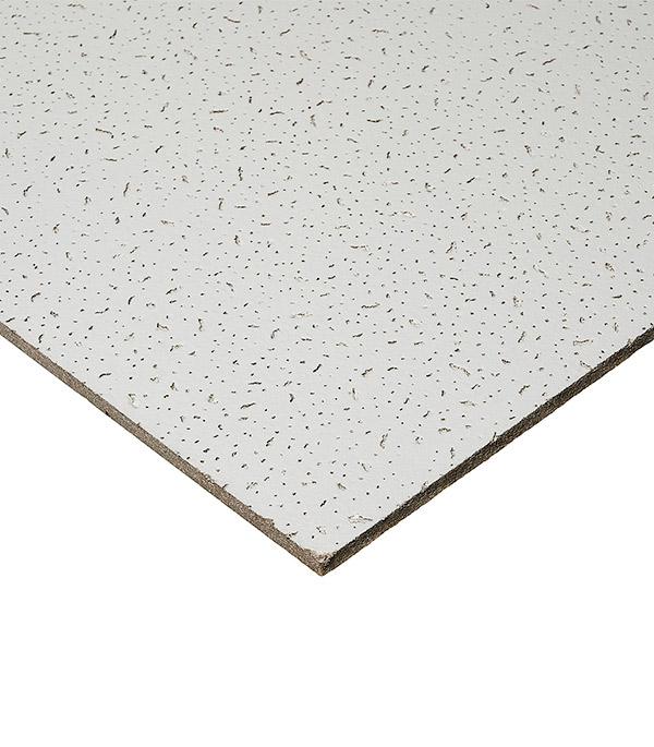 Купить Плита к подвесному потолку Board Байкал кромка 600х600х12 мм, Минеральное волокно