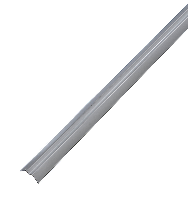 Купить Профиль угловой теневой PLL 23х21х3000 мм белый оцинкованный, Белый оцинкованный, Оцинкованная сталь