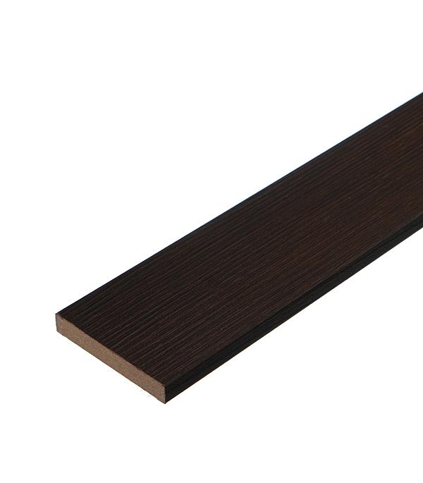 Наличник прямой VellDoris TREND, VISION экошпон венге 70х10х2200 мм (1 шт.)