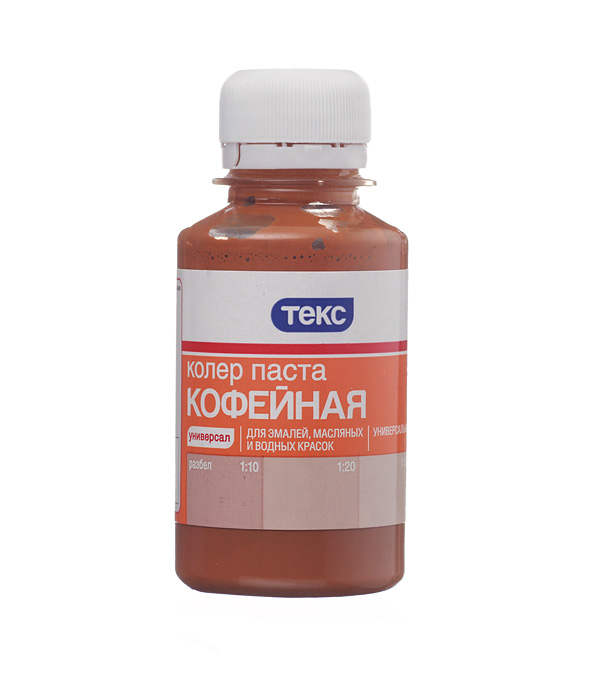 Колорант Текс №10 универсальный кофейный 0.1 л