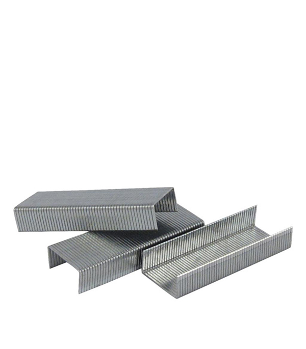 Скобы для степлера Vira 810406 тип 53 6 мм (1000 шт.) скобы bosch для строительного степлера тип t53 6 мм 1000 шт