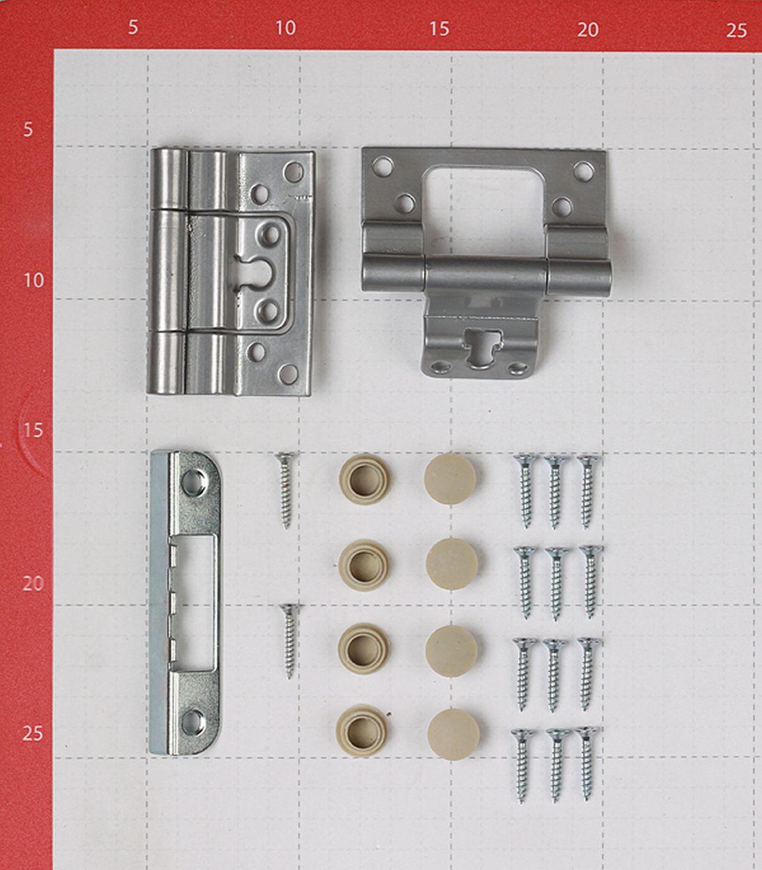 Коробка дверная VellDoris TREND, SMART экошпон капучино 38х80х2042 мм (759х2042 мм) (2,5 шт.)