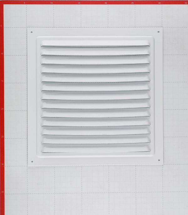 Решетка вентиляционная стальная приточно-вытяжная ERA 250х250 мм с сеткой фото