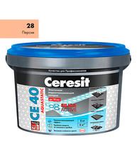 Затирка Церезит СЕ 40 aquastatic №28 персик 2 кг