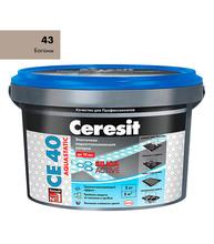 Затирка Церезит СЕ 40 aquastatic №43 багама бежевый 2 кг