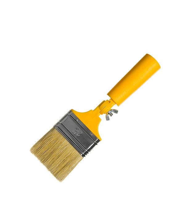 Кисть гнущаяся 63 мм натуральная щетина пластиковая ручка кисть для рисования масляными красками moent monet moent 13618