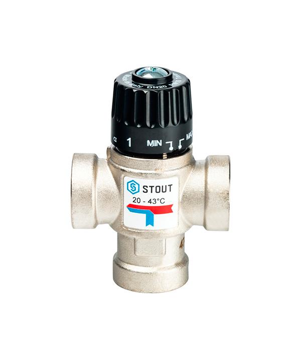 Клапан термостатический stout