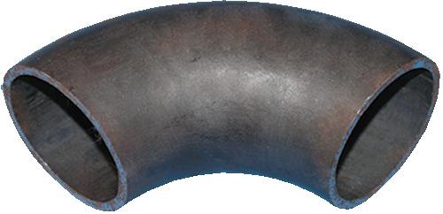 Отвод крутоизогнутый под сварку Ду40 шовный стальной черный резьба ду40