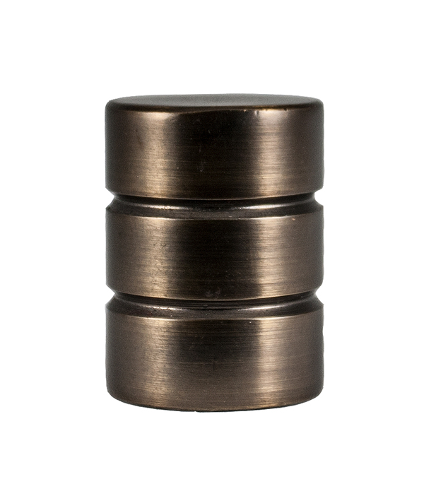 цены Наконечник Цилиндр-2 d 20 мм шоколад 2 шт.