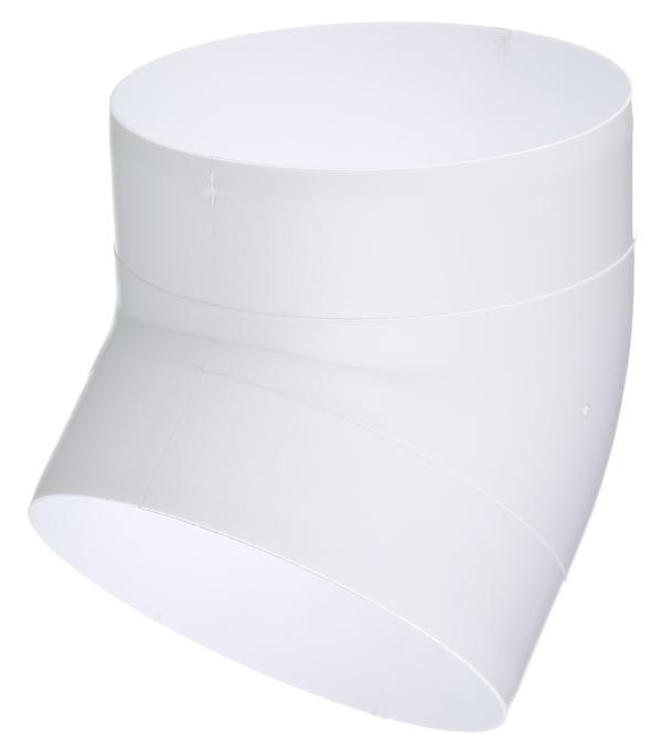 цена на Колено для круглых воздуховодов пластиковое d125 мм 45°