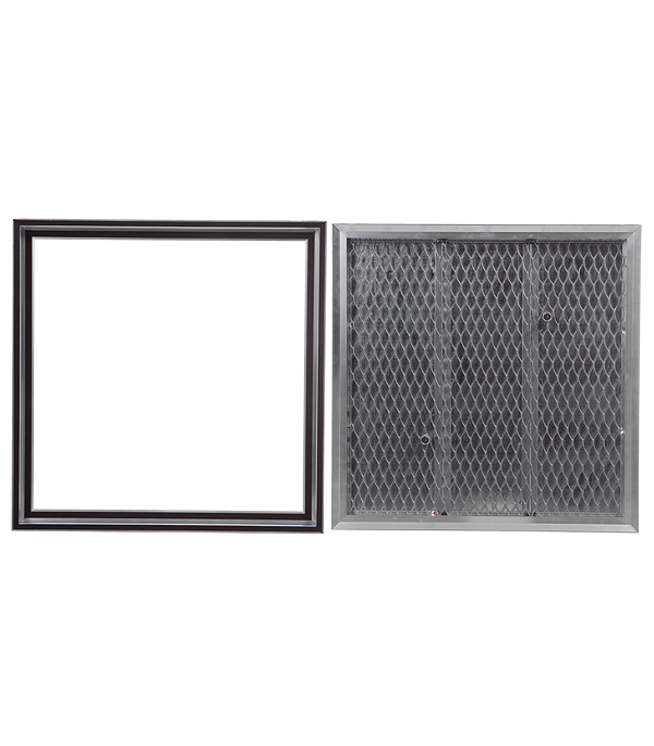 Люк ревизионный Барьер Практика 600х600 мм напольный съемный алюминиевый фото