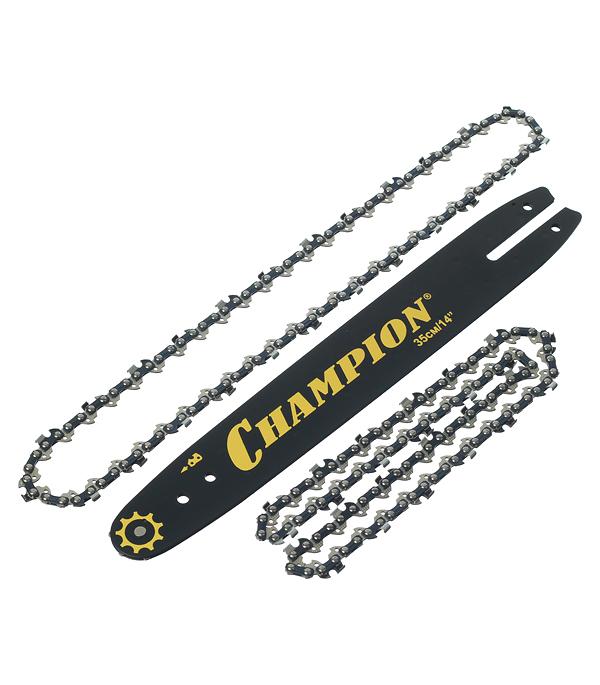 Шина Champion 35 шаг 3/8 паз 1,3 мм 50 звеньев с двумя цепями