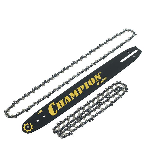 """Шина Champion 16"""" шаг 3/8"""" паз 1,3 мм 56 звеньев с двумя цепями"""