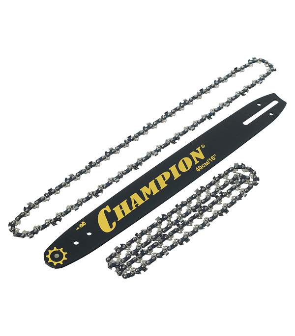 Шина Champion 16 шаг 3/8 паз 1,3 мм 56 звеньев с двумя цепями
