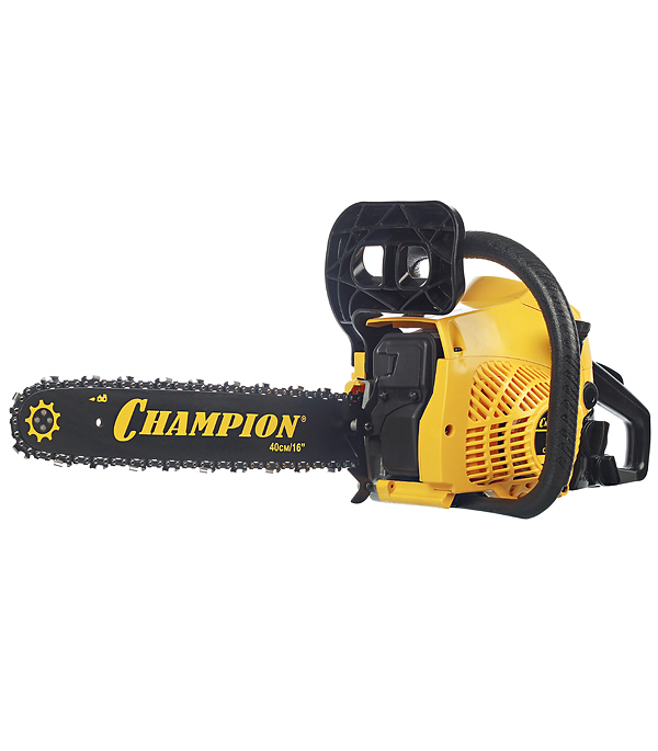 "Бензопила Champion 241 2,45 л.с. 16"" шаг 3/8"" паз 1,3 мм 56 звеньев"