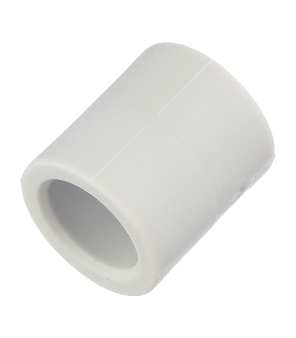 Муфта полипропиленовая 20 мм FV-PLAST серая