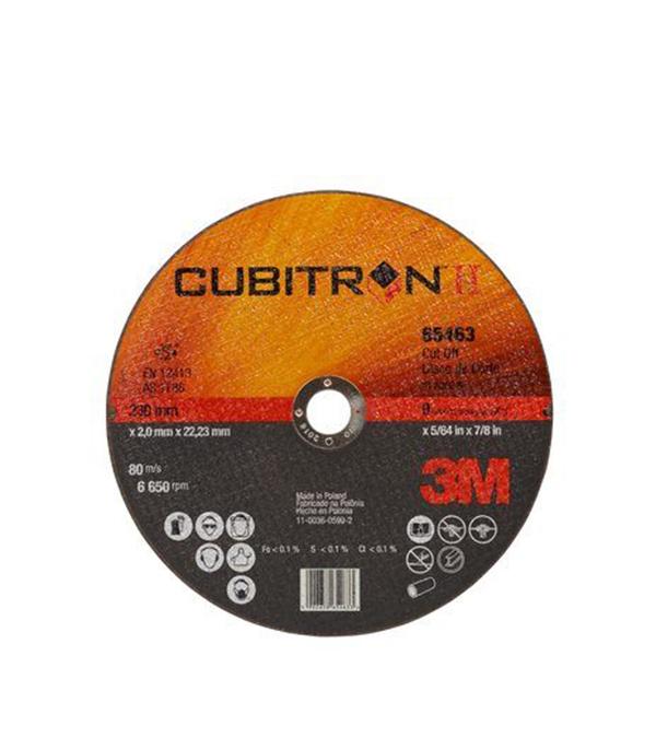 Фото - Круг отрезной по металлу 3M Cubitron-II (65463) 230х22х2 мм диск отрезной 125x1 6x22 23 3m