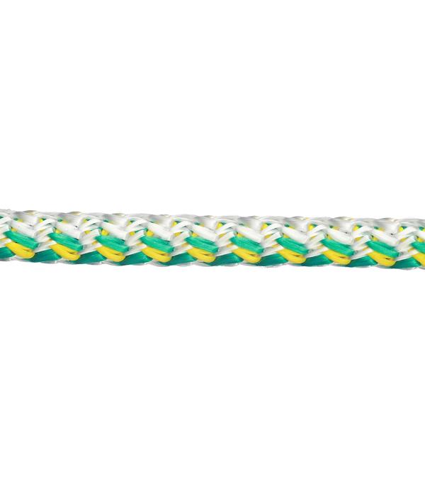 Плетеный шнур цветной d8 мм полипропиленовый, повышенной плотности 10 м шнур хозяйственный 8 0 мм 10 м