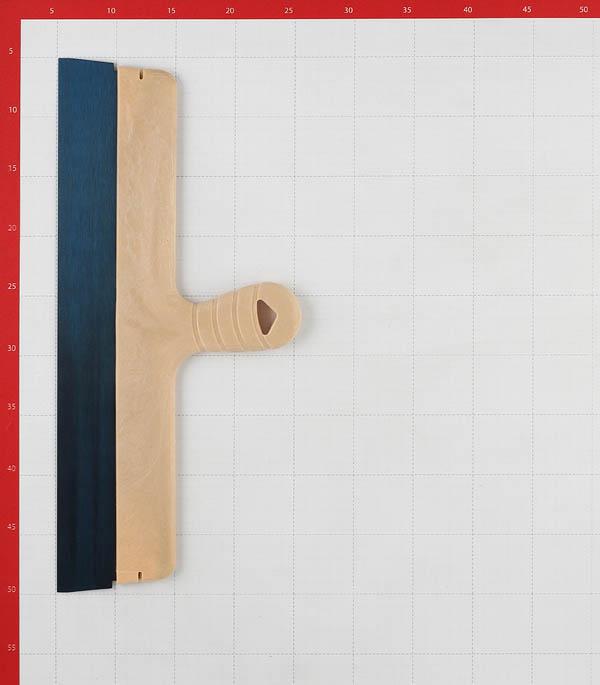 Шпатель фасадный Wenzo 450 мм с оксидированным полотном фото