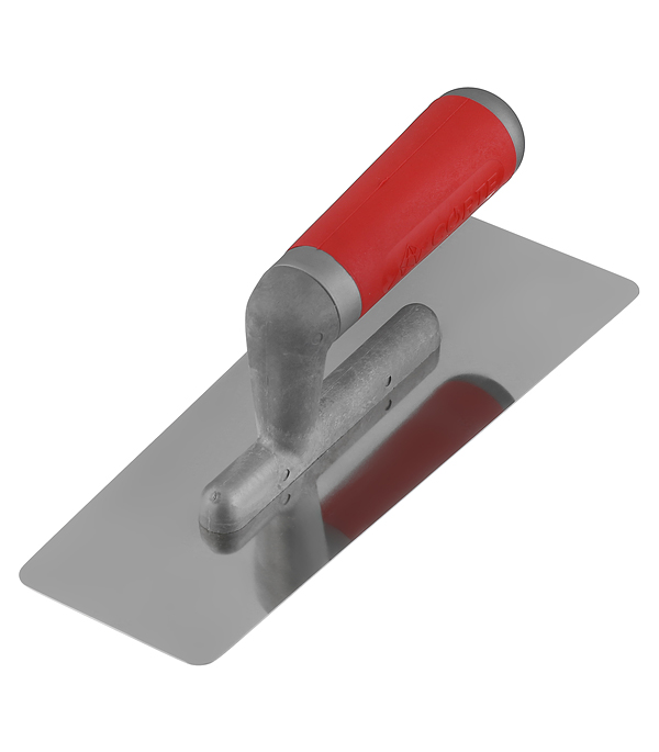 Гладилка плоская 240х95х75 мм трапециевидная с эргономичной ручкой