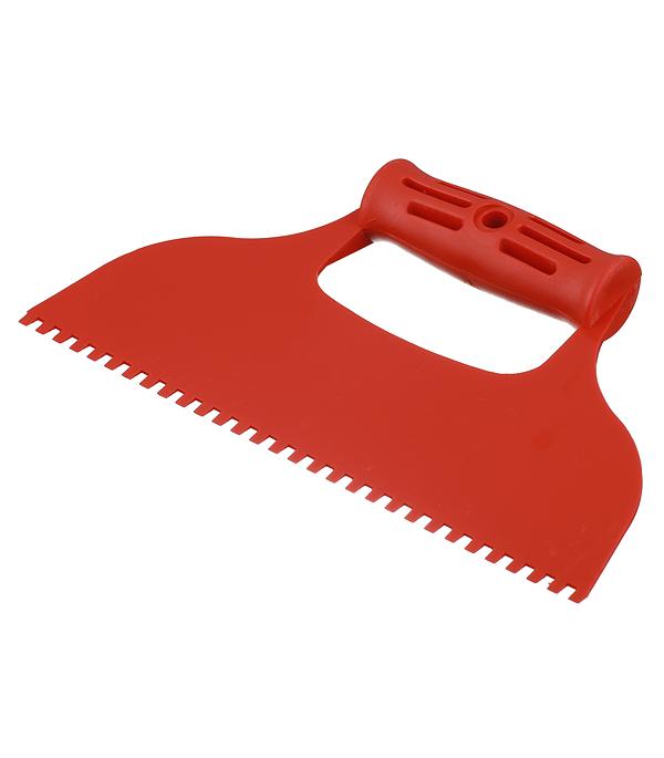 Шпатель 235 мм для клея зуб 4х6 мм Corte шпатель для клея 230 мм крупный зуб anza профи