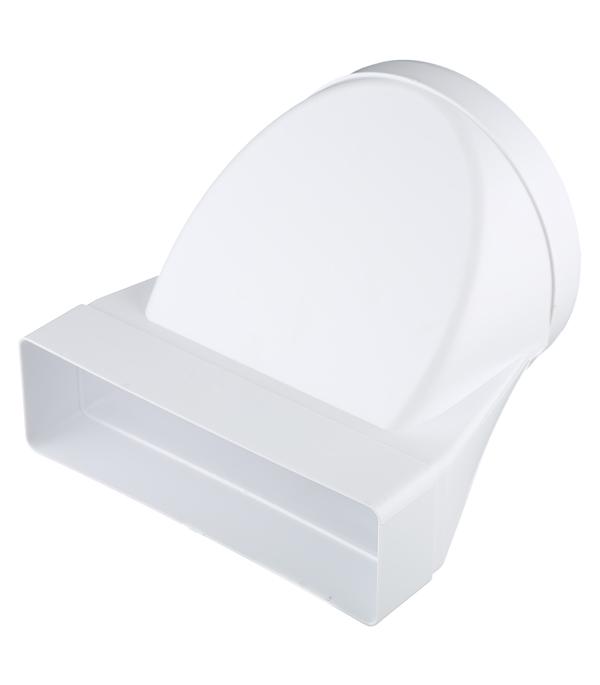 Соединитель эксцентриковый пластиковый для плоских воздуховодов 60х204 мм с круглыми d160 мм цена