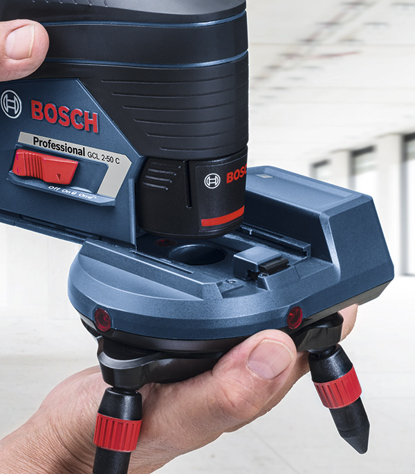 Держатель Bosch RM 3 Professional (00601092800) для нивелиров поворотный